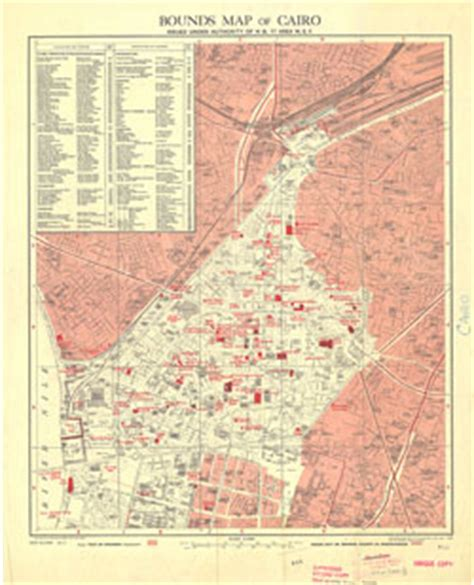 middle east map cairo cairo bounds maps of 1946