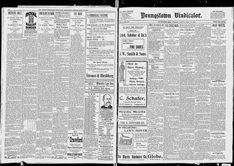 Youngstown Vindicator Records News Search And On