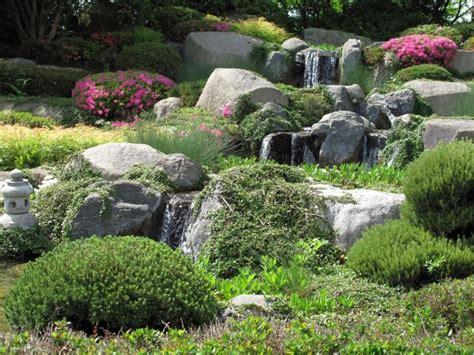 rock garden waterfall image gallery japanese rock garden waterfall