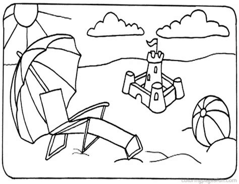 Coloring Pages Beach Themed Coloring Pages Beach Coloring Themed Coloring Pages Free