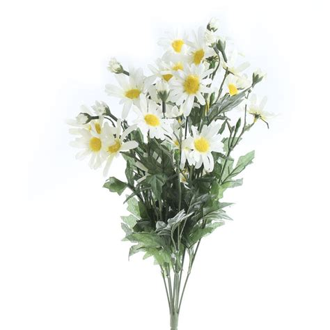 cream artificial daisy spray bushes  bouquets