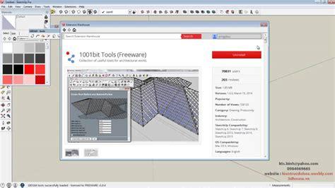 tutorial sketchup 2015 tutorial install extension sketchup 2015 hd cai dat