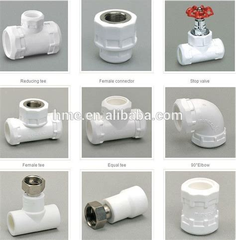 Name Of Plumbing Fittings by Ppr Names Pipe Fittings Ppr Plumbing Pipe And Fittings