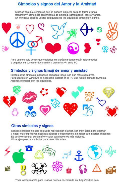 imagenes de simbolos y que significan s 237 mbolos y signos del amor y la amistad varios ejemplos