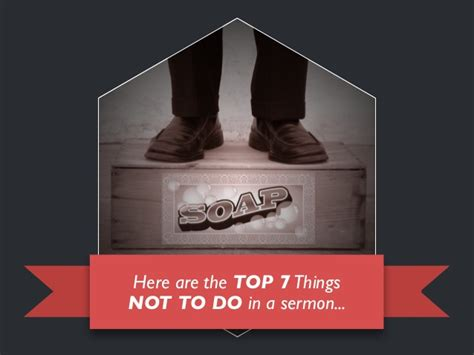 7 Things Not To Do When by Top 7 Things Not To Do In A Sermon Therocketco