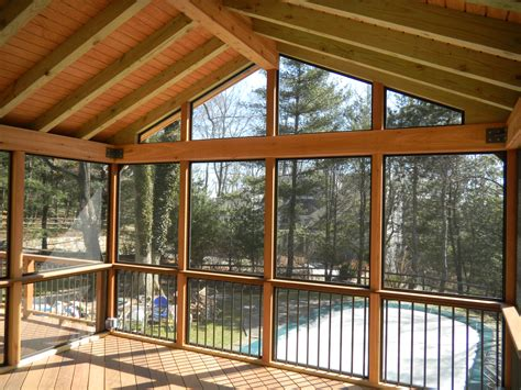 screen porches bring outdoor living into the custom decks of fairfield county
