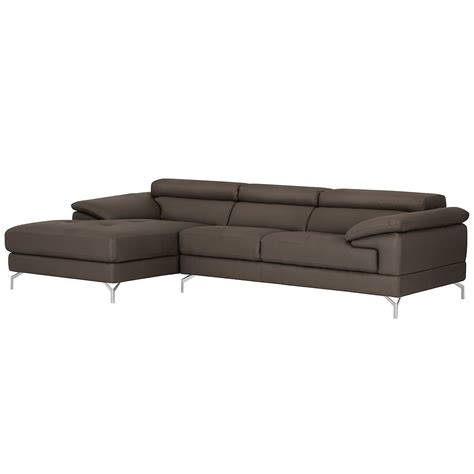Grey Microfiber Sectional With Chaise City Furniture Dash Dk Gray Microfiber Left Chaise Sectional