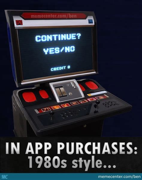 Meme Arcade - in app purchases in 80s by ben meme center