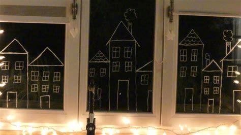 Weihnachtsdeko Fenster Kreide by Last Minute Weihnachts Deko Tipps Mamaabba