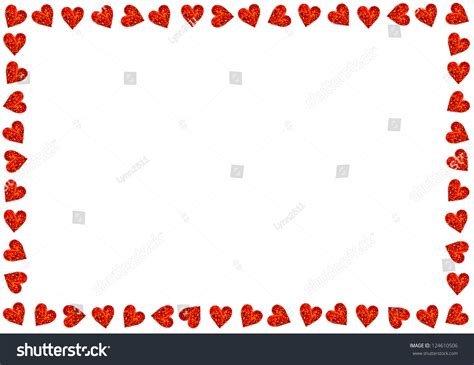 valentines day card background hearts on white background valentines stock photo