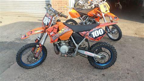 ktm motocross bike 2003 ktm sx65 motocross bike small wheel 65