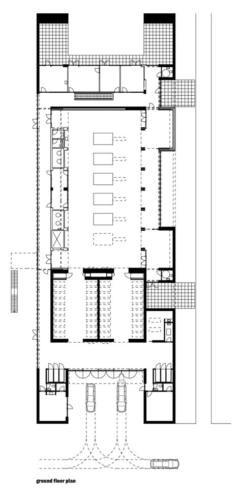 crematorium floor plan communal crematorium in ringsted by henning larsen
