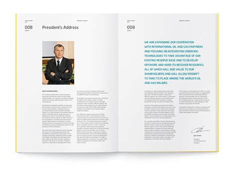 Designspiration Annual Report | quot rosneft quot annual report 2011 on behance