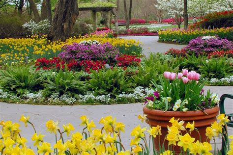 Dallas Botanic Garden Dallas Arboretum And Botanical Garden Hosts Festival Events And Concert Series Dallas Blooms