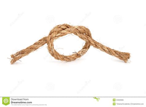 String Knotting - rope with knot stock image image of concepts image