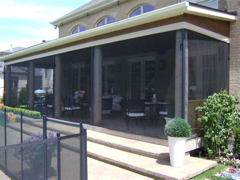 mosquito netting for retractable awnings auvents de venise offers custom made quality fiber glass