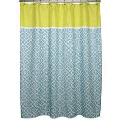 citron colored curtains overstock com com irongate lattice aqua and citron