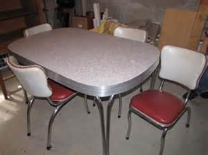 vintage formica table and chairs central nanaimo