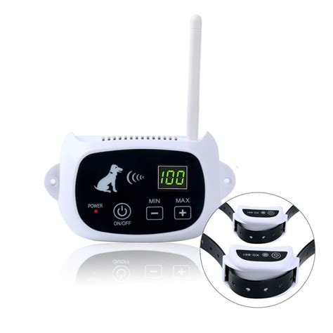 wireless fences wireless 1 2 fence no wire pet containment system rechargeable waterproof ebay