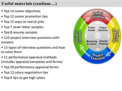Program Manager Duties by Project Supervisor Description