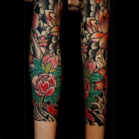 devotion tattoo japanese flowers search i n k