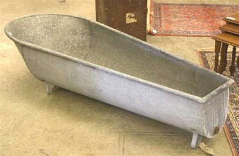 cowboy bathtub lot 136 galvanized cowboy bathtub