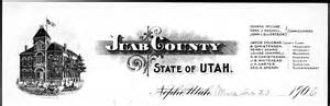 Utah County Court Records Courts Researching The Utah State Archives