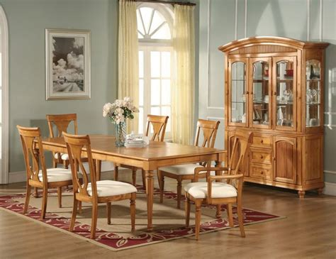 25 best ideas about oak dining room set on