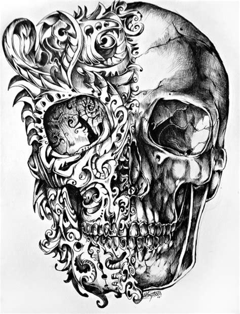 doodle skull meaning top 60 des plus belles t 234 tes de mort mexicaines