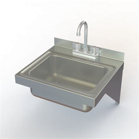 wall mounted commercial sink faucet aero manufacturing hsef wall mounted stainless steel hand