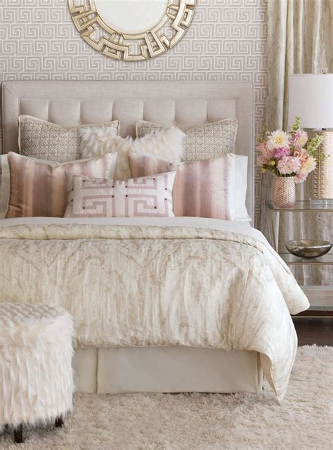 cream gold bedroom 25 best ideas about cream bedding on pinterest log home