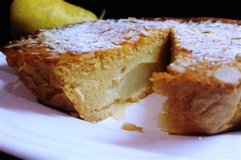 postres y otras recetas tarta de peras pastel de peras y almendras