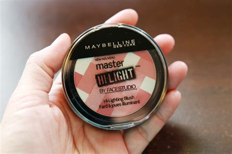 Maybelline Highlight diffuse those rosy pink cheeks with maybelline s master hi