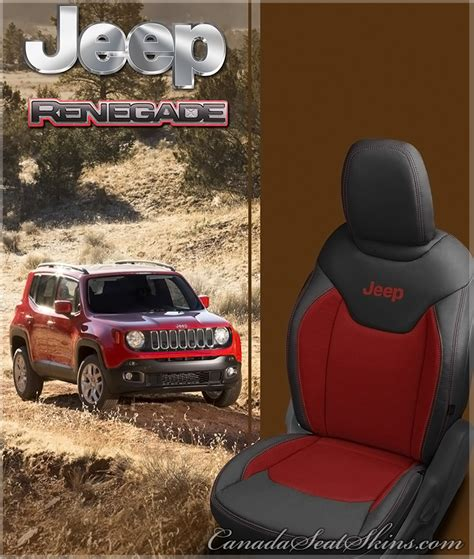 jeep renegade leather interior 2015 2018 jeep renegade custom leather upholstery