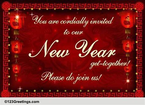 chinese  year invitations cards  chinese  year invitations wishes