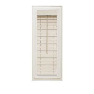 home depot home decorators collection blinds home decorators collection cut to width beige 2 in faux