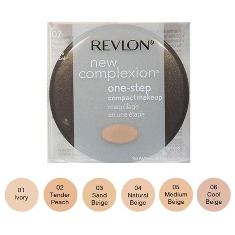 Revlon New Complexion Foundation revlon new complexion one step compact makeup reviews