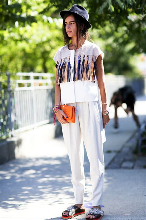 eclectic look le fashion street style a boho eclectic spring to summer
