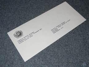Letter Of Resignation Envelope by Resignation Letter Envelope Unsigned Prop From Seaquest Dsv Tv 1993
