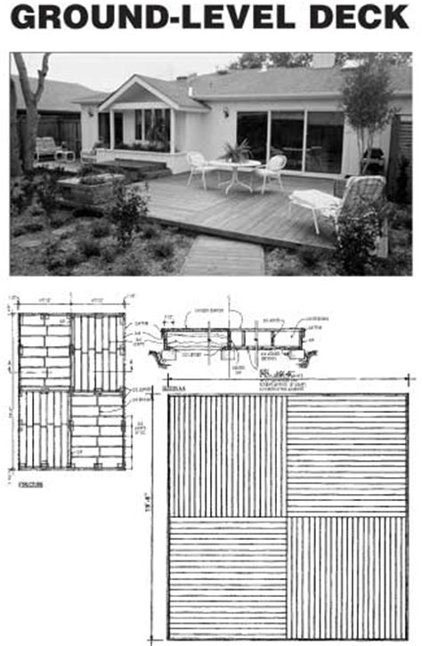 diy deck porch patio stair plans build