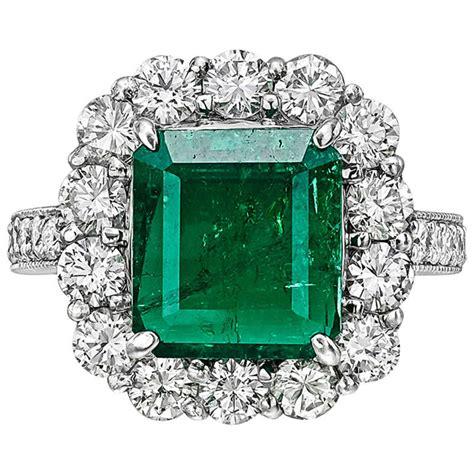 3 52 carat emerald ring at 1stdibs