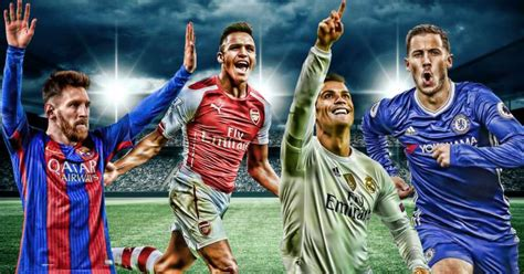 best players in the world 10 best footballers of the 2016 17 season based on ratings