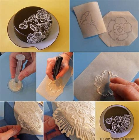 Make A Piping Bag Out Of Parchment Paper - cake decorating sketching with sugarveil materials