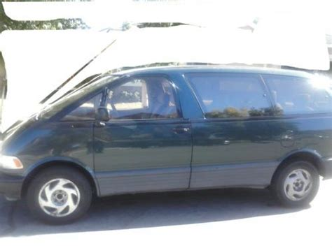how to sell used cars 1995 toyota previa spare parts catalogs sell used 1995 toyota previa dx mini passenger van 3 door 2 4l in moreno valley california