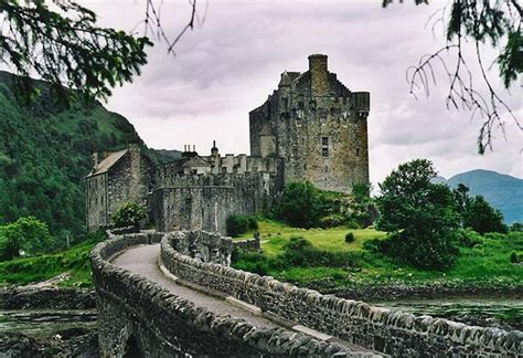 Records In Scotland Eilean Donan Castle Idyllic Scottish Setting Carries A