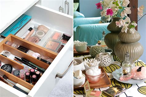 6 ways to organize your cosmetics rl
