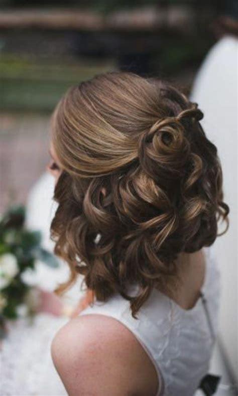 Kurze Haare Hochzeitsfrisur by Brautfrisuren Offen Halboffen Oder Hochgesteckt 100