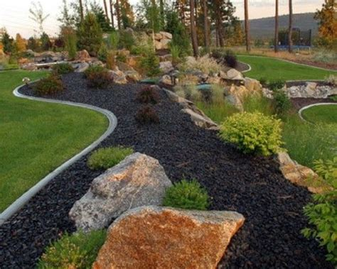17 Best Images About Yard Landscaping Ideas On Pinterest Black Rock Gardens