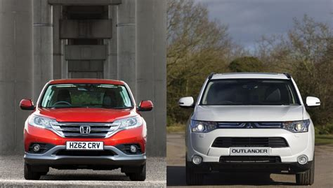 Sparepart Honda Vs Mitsubishi honda cr v vs mitsubishi outlander blood sweat and