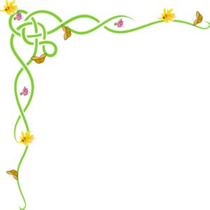 spring borders clip art free #141608